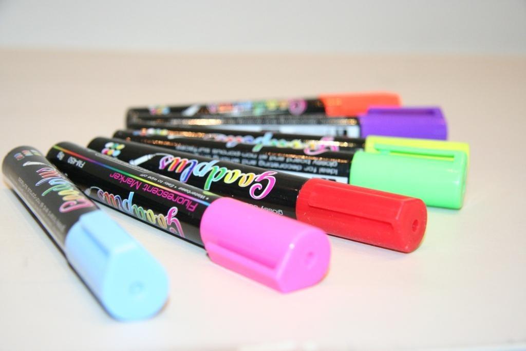 Набор маркеров Index IMP555/4 1 мм 4 шт разноцветный  IMP555/4